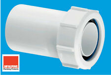 """McAlpine Multifit Fitting Reducer 40mm 1-1/2"""" to 32mm 1-1/4"""" Waste Pipe T12M"""