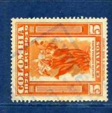 ORCHIDS OF COLOMBIA,  U.P.U. >> cancel ''EXPRESO RIBON'',-     1950