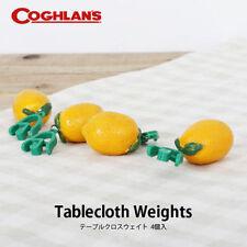 NEW LEMON WEIGHTS SET OF 4 TABLECLOTH CLIP WEDDING PICNIC GARDEN BBQ DINING BN