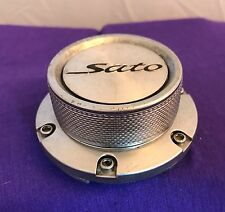 Sato Silver Wheel Center Cap (1) pn: CT21