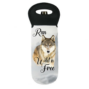 Wolf run wild n free cooler carry bag brand new great gift idea
