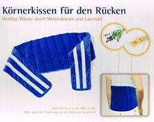 XXL Körnerkissen für den Rücken Wärmekissen mit Weizen Lavendelkissen Kissen