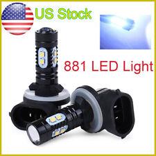 2X High Power LED Fog Driving Lights Bulb 881 862 886 889 894 896 898 White Hot