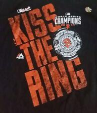 San Francisco Giants KISS THE RING 2014 World Series Champions T-Shirt! New!