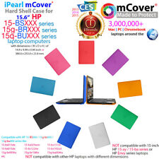 "NEW mCover® Hard Shell Case for 15.6"" HP 15-BSxxx 15g-brXXX 15q-buXXX laptop"