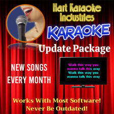 Karaoke Collection Monthly Update Package - NEW SONGS EVERY MONTH!