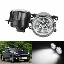 2x 9 LED Front Fog Light DRL Lamps For Ford Fiesta Focus Transit Connect Custom