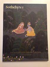 SOTHEBY'S CATALOG - KHOSROVANNI-DIBA COLLECTION - INDIAN ART - OCT. 2016
