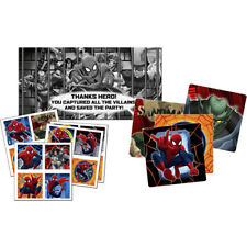 ULTIMATE SPIDER-MAN SCAVENGER HUNT PARTY GAME ~Birthday Supplies Activity Marvel