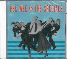 PEE WEE & THE SPECIALS  SEALED CD RARITY RECORDS