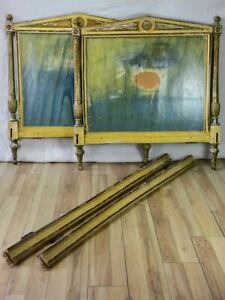 Antique French Directoire bed frame