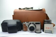 FUJIFILM TX-1 BODY 45mm f/4 90mm f/4 LENS SET!! 35mm Film Panoramic Camera