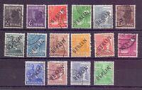 Berlin 1948 - Schwarzaufdruck - MiNr. 1/16 gestempelt- Michel 355,00 € (520)