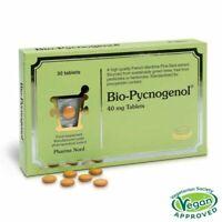 30 X maritime pine bark (Pinus pinaster) Bio-Pycnogenol immunity 40mg Tablets