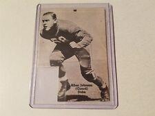 Allen Johnson Duke University 1939 Football Pictorial Roto-Panel
