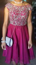Short Burgundy/Maroon Sherri Hill Prom Dress Size 00