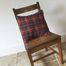 Tartan Plaid Red Cushion Covers Pillow Cases Home Decor or Inner