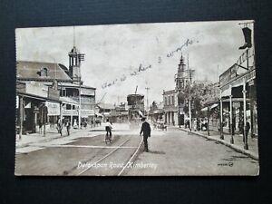 DUTOITSPAN ROAD, KIMBERLEY, SOUTH AFRICA - VALENTINE'S SERIES No 500520 (c1910)