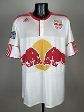 Men's Adidas Climacool New York City Red Bulls White #13 Soccer Jersey Xl