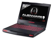 """Alienware m11x R2 i7-u640 8gb Ram 500gb HDD Win10 Gaming Laptop PC 11"""" GT 335M"""