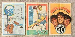 1970's Buffalo Sabres ROGER CROZIER Buffalo Evening News Newspaper Poster Aud