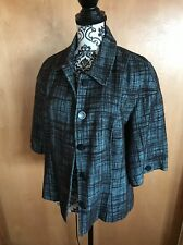 Womans Etcetera Casuals Tweed Jacket Size L Lined
