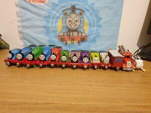 18 piece engine bundle Thomas Tank & Friends Take n Play Along