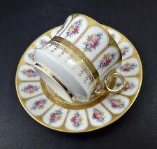 Antique Cauldon Tea Cup & Saucer