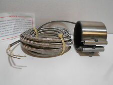 New WATLOW 81-22-128 240V 750W BAND PIPE HEATER