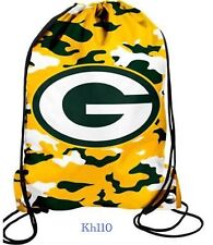 Green bay Packers NFL drawstring backpack /Gym Bag (Camoflag)