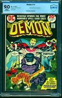 Demon #14 CBCS VF/NM 9.0 White Pages