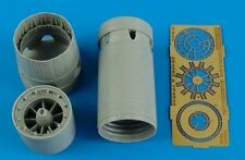 Aires 1/48 Mirage 2000C/B/D/N Exhaust Nozzle Opened for Kinetic kit # 4553