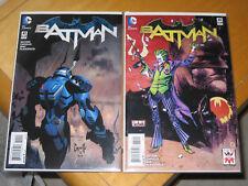 2015 BATMAN 41 NEW 52 1ST FIRST MECH BATSUIT KEY ISSUE 2 COMIC VARIANT SET JOKER