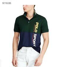 *NEW* Polo Ralph Lauren Sport Performance Polo Shirt Men's Medium: MSRP $110