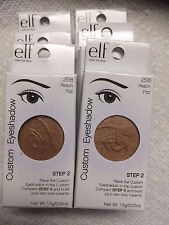e.l.f. Custom Eye shadow Refill Pan # 2516 Peach Fizz Size .05 oz. (1.5 g) 6 Pac
