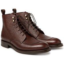 Botas de cuero para hombre o'keeffe UK10 US11 nuevo PVP £ 425