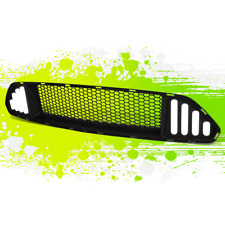 FOR 15-17 FORD MUSTANG LED DRL BAR FRONT BUMPER HOOD MESH GRILLE UPPER GRILL 16