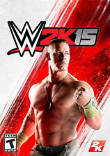 W2K15 Microsoft XBOX ONE Game Great Condition Boxed WWE Wrestling plus Sting Dlc
