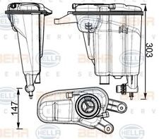 Audi A4 A5 Q5 2007 on Expansion tank GENUINE BEHR 8MA376741764