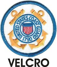Military Uscg United States Us Coast Guard Seal Patch Velcro® Brand Hook Fastene