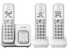 Panasonic DECT 6.0 Expandable Cordless Phone Call Block Answering - 3 Handsets