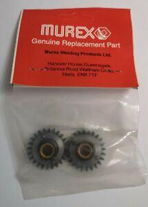 MUREX MIG Welder Geared Adaptor Feed Roll 2 pack