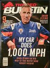 THE RED BULLETIN ANDY GREEN 1000mph car Snow Flying US edition 2/15FREE SHIPPING