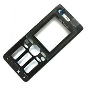 100% Genuine Sony Ericsson W880 front housing+screen lens+camera glass black new