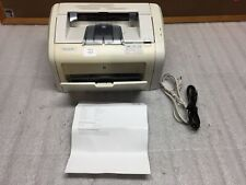 HP LaserJet 1018 CB419A Monochrome Printer 30k Page Count TESTED & WORKING Fair