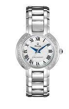 Bulova Precisionist Women's 96R167 Fairlawn Diamond Accents Bracelet 32mm Watch