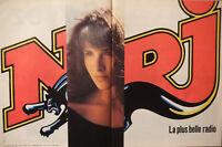 PUBLICITÉ DE PRESSE 1989 NRJ LA PLUS BELLE RADIO - ADVERTISING