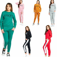 JUSTYOUROUTFIT Womens VOGUE Print Tracksuit