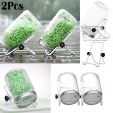 2x Stainless Steel Sprouting Stand Foldable&Non-slip Scaffold Mason Jar Pad Kits