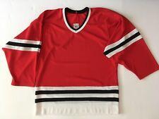 Vintage Authentic Chicago Blackhawks Jersey Blank CCM Rare